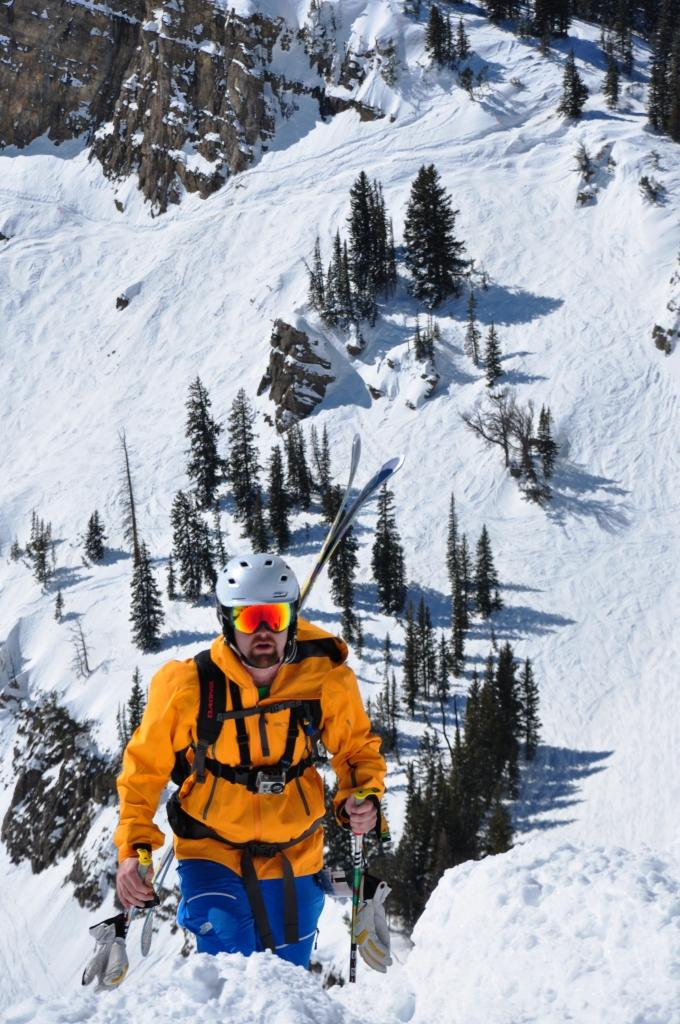 Earn Your Turns- Top of the Headwall