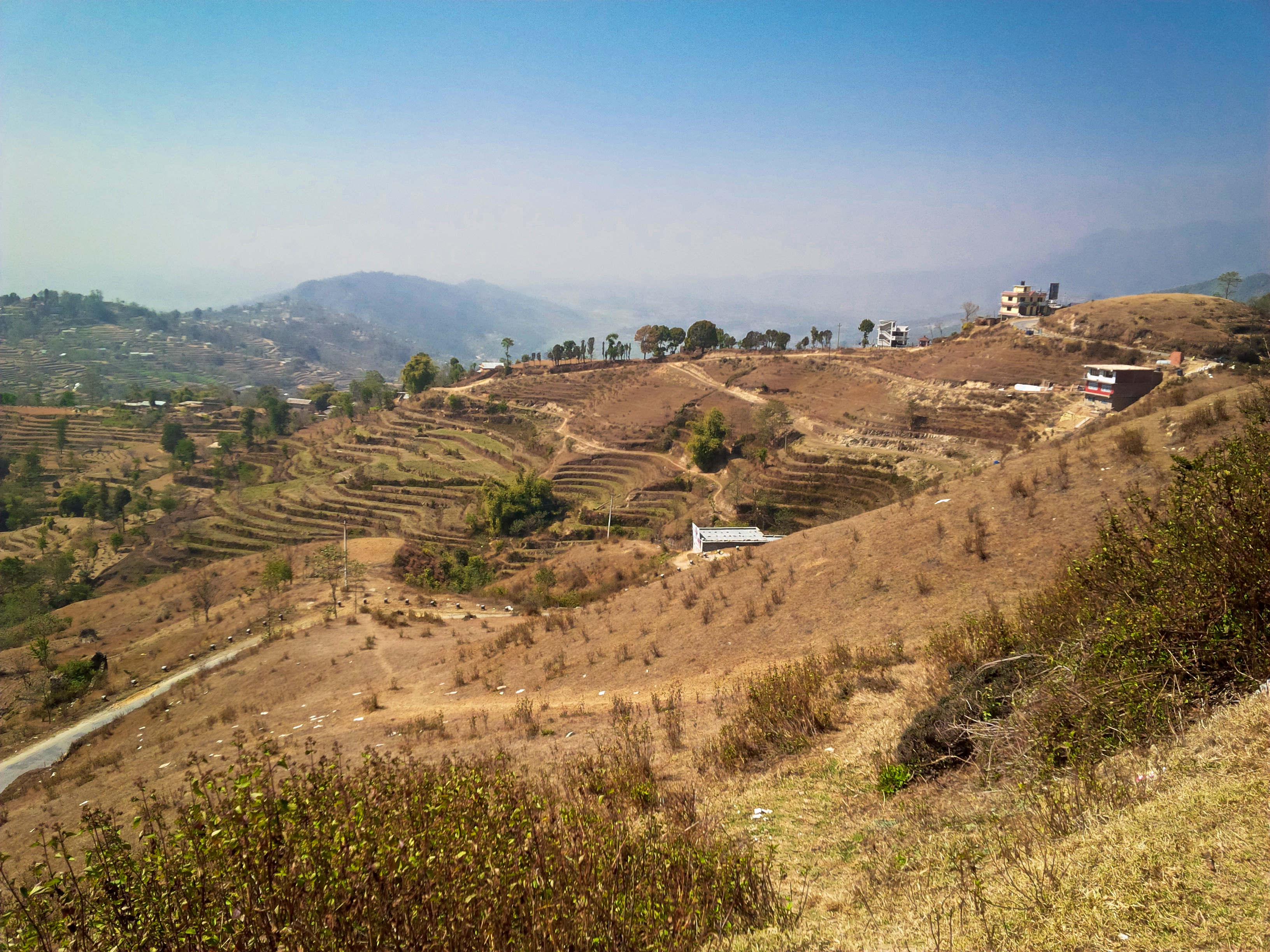 Across valley from Nagarkot