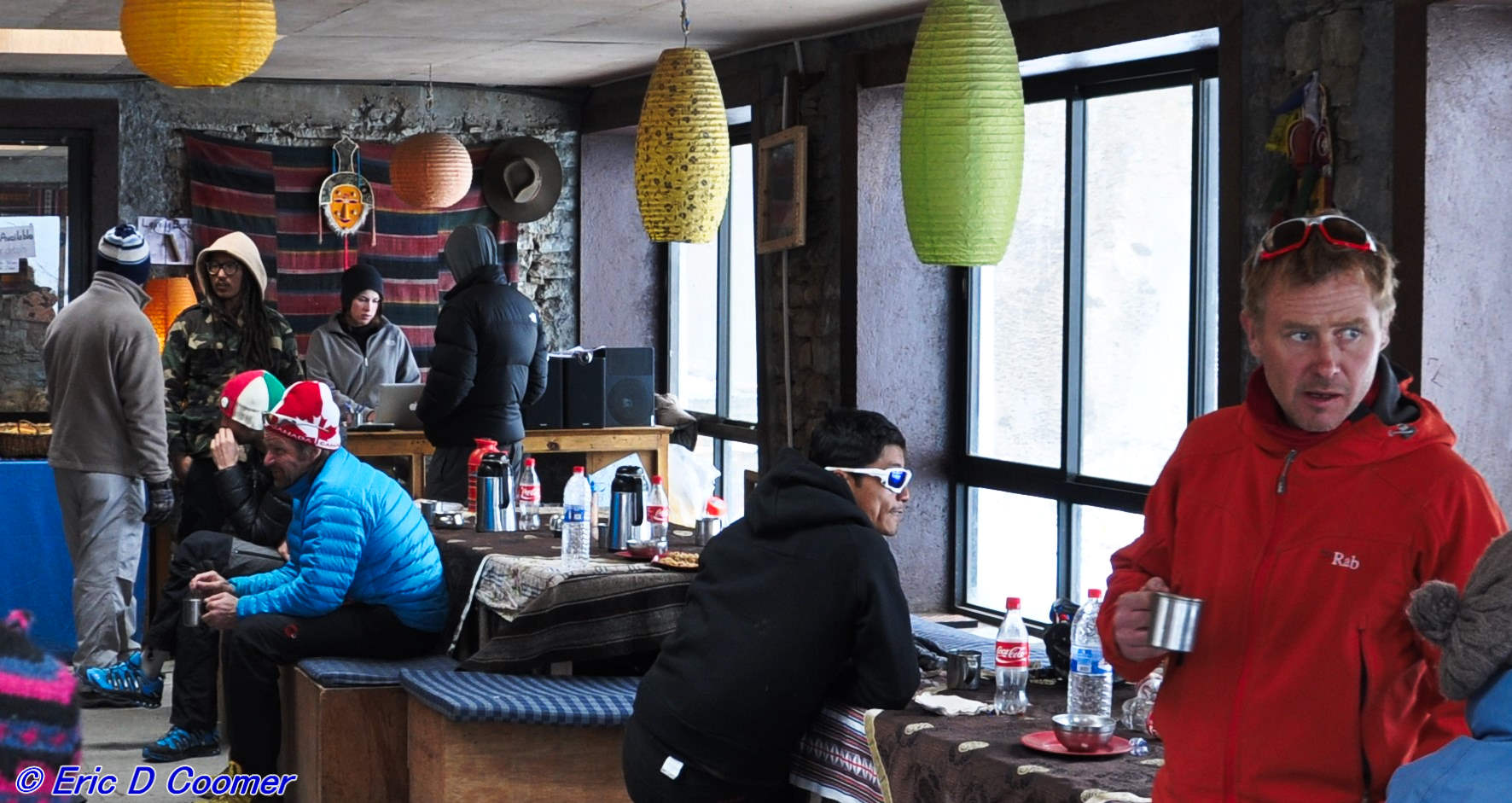 The lodge at Thorong Phedi